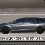 Citroen C5III in der Hotwheels Verpackung