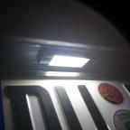 Kennzeichenbeleuchtung auf LED umgerüstet